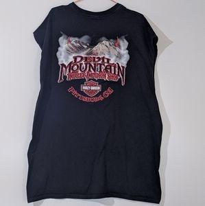 Harley Davidson Devil's Mountain 3XL T Shirt 2004